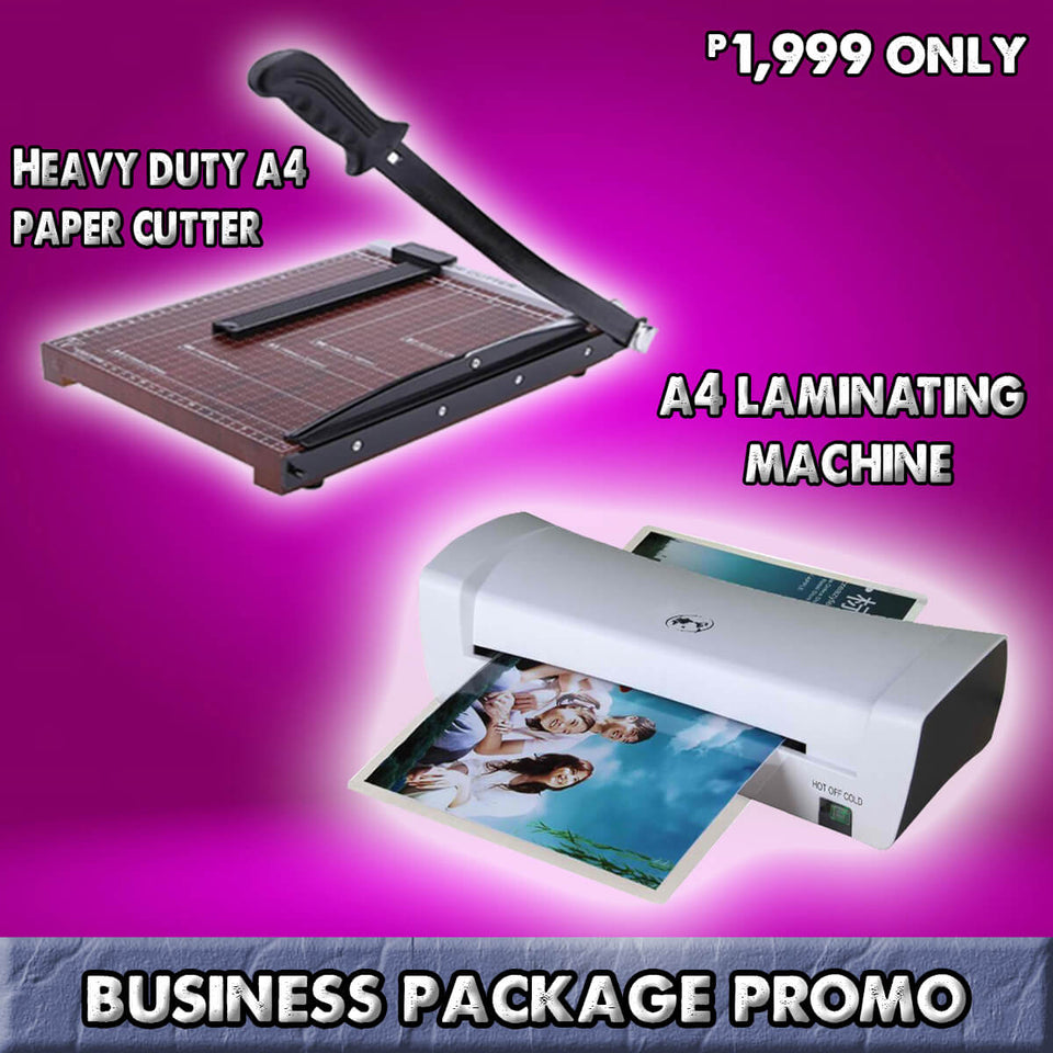 A4 THERMAL LAMINATING MACHINE BUSINESS PACKAGE