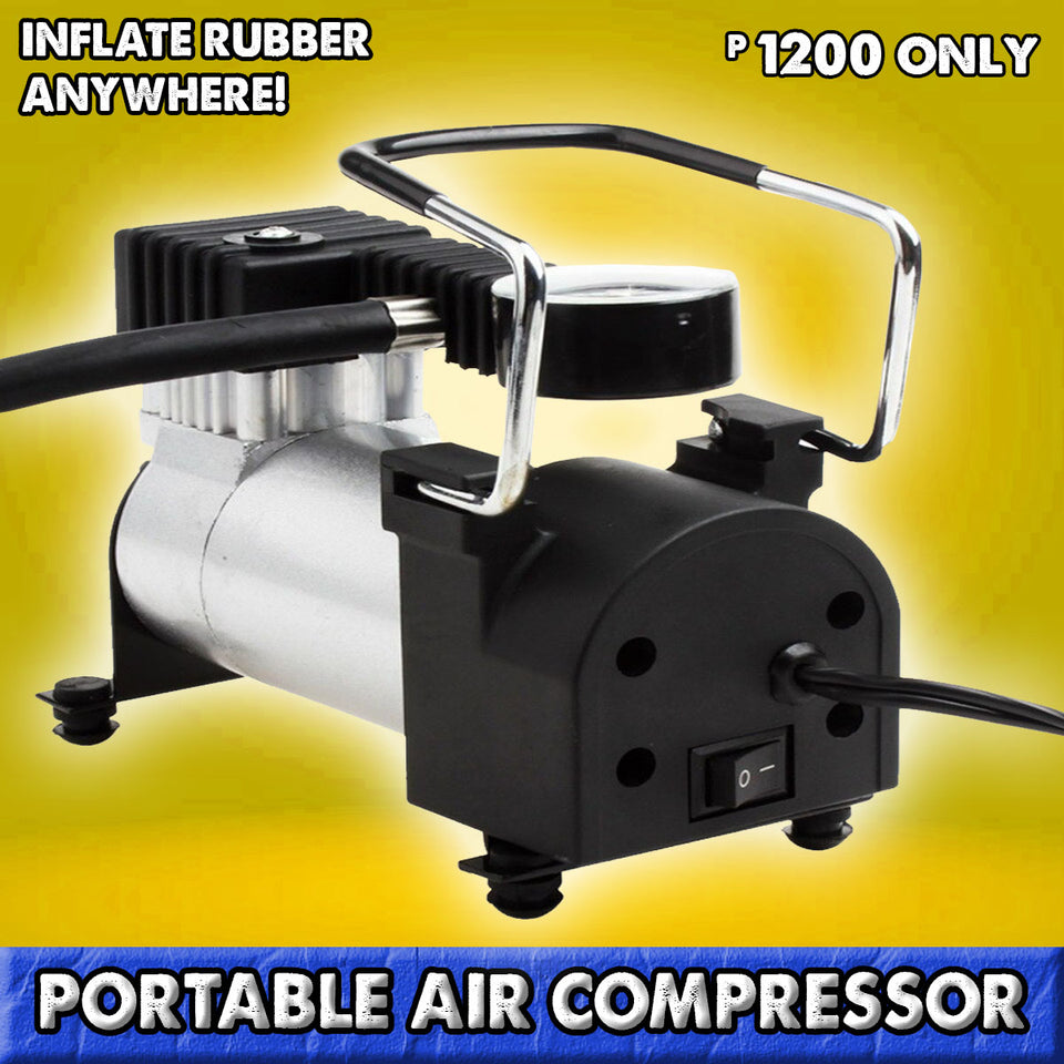 PORTABLE AIR COMPRESSOR 12V 150PSI