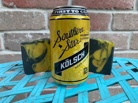 Kolsch from Southern Star Brewing Co. Beer Soap - Spunk N Disorderly Soaps