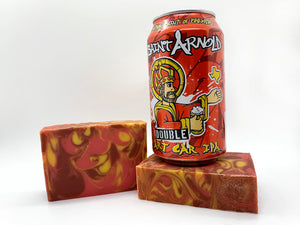 Double Art Car IPA Beer Soap - Spunk N Disorderly Soaps