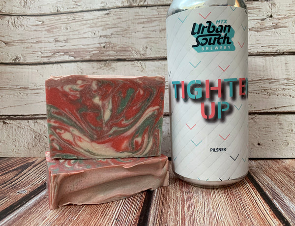 Tighten Up Beer Soap - Spunk N Disorderly Soaps