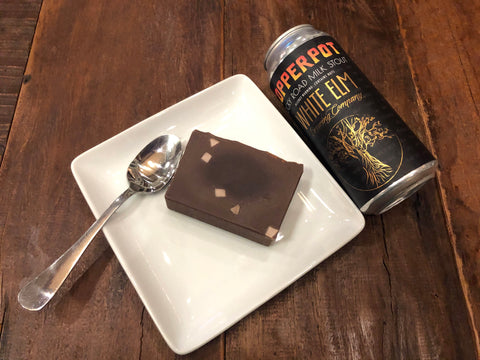Copperpot Rocky Road Milk Stout Beer Soap - Spunk N Disorderly Soaps