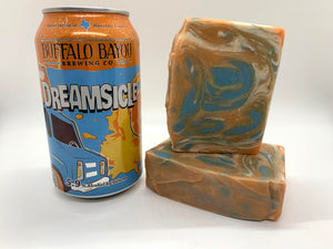 Dreamsicle Beer Soap - Spunk N Disorderly Soaps