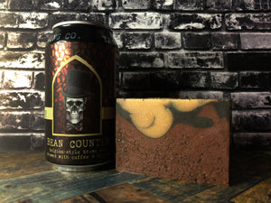 Bean Counter Beer Soap - Spunk N Disorderly Soaps