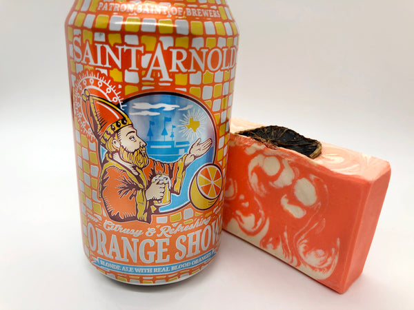 Orange Show Beer Soap - Spunk N Disorderly Soaps