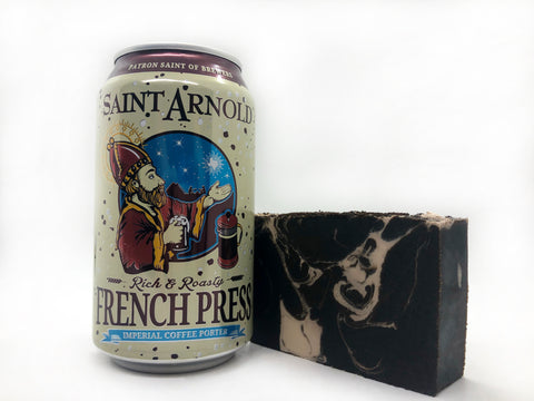 French Press Beer Soap - Spunk N Disorderly Soaps