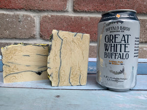 Great White Buffalo Beer Soap - Spunk N Disorderly Soaps
