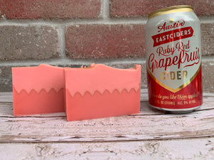 Grapefruit Cider Soap - Spunk N Disorderly Soaps