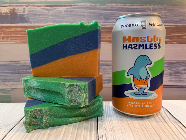 Mostly Harmless Beer Soap - Spunk N Disorderly Soaps