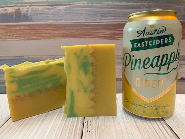 Pineapple Cider Soap - Spunk N Disorderly Soaps