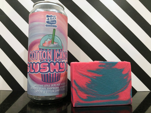 Cotton Candy Beer Soap - Spunk N Disorderly Soaps