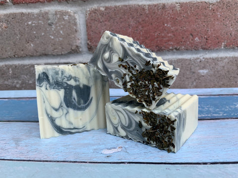 Peppermint All Natural Soap - Spunk N Disorderly Soaps