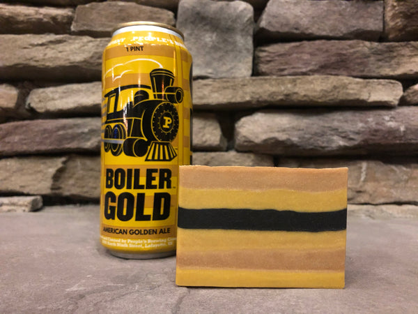 Boiler Gold Beer Soap - Spunk N Disorderly Soaps