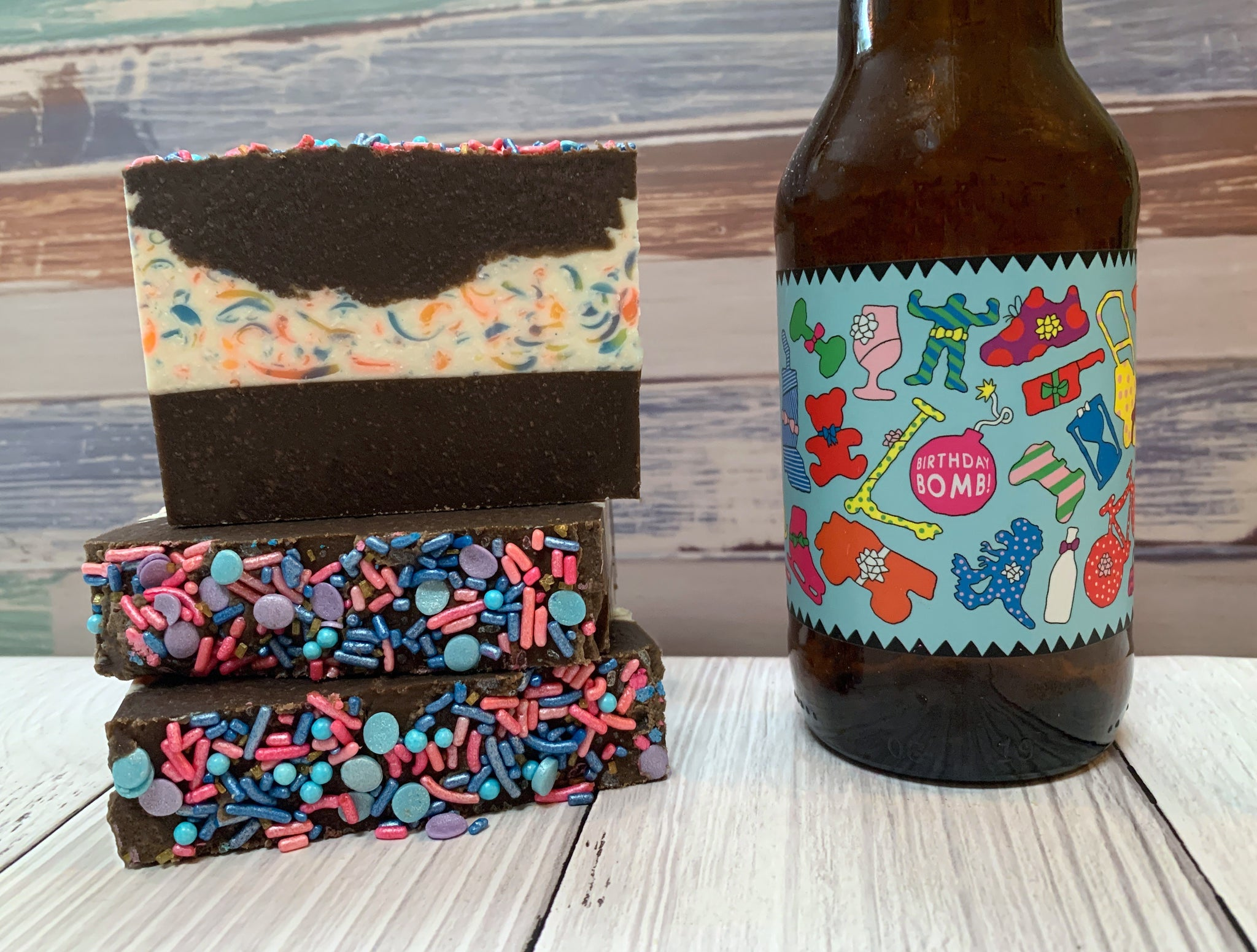 Birthday Bomb! Beer Soap - Spunk N Disorderly Soaps