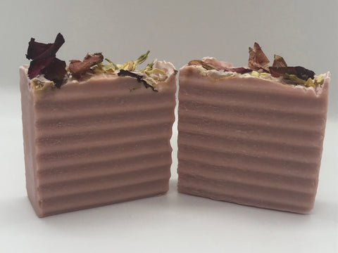 Rose All Natural Soap - Spunk N Disorderly Soaps