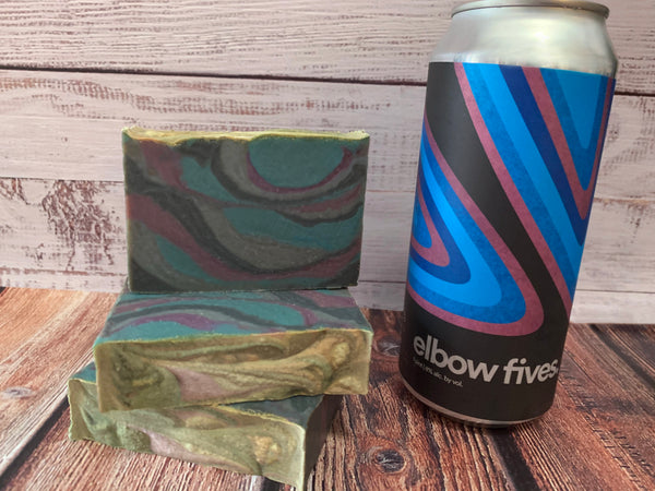 Elbow Fives Beer Soap - Spunk N Disorderly Soaps