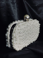 Clutch with Pearls
