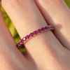Ruby Eternity Band Ring