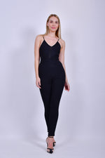 Black Bodycon Jumpsuit
