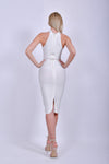 White Bandage Sleeveless Dress