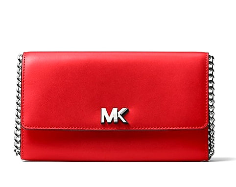 MICHAEL KORS  Mott Leather Clutch