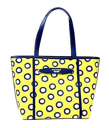 BOUTIQUE MOSCHINO POLKA DOTS BAG