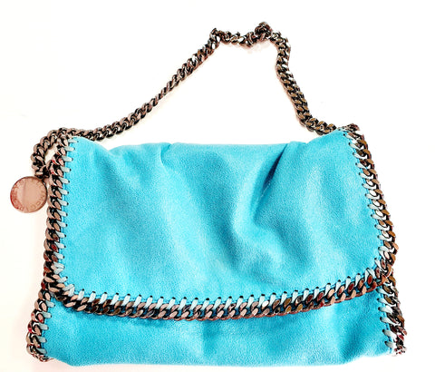Stella McCartney Falabella CrossBody Bag Blue