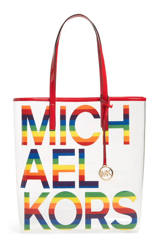 Michael Kors Rainbow Tote Bag