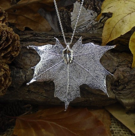 Canadian Maple Leaf Pendent