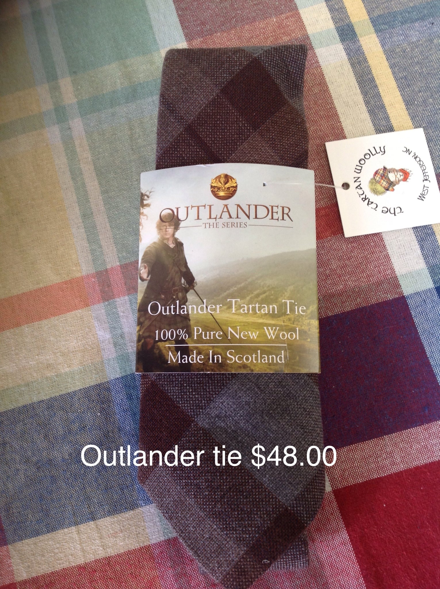 Official Outlander Tartan Ties