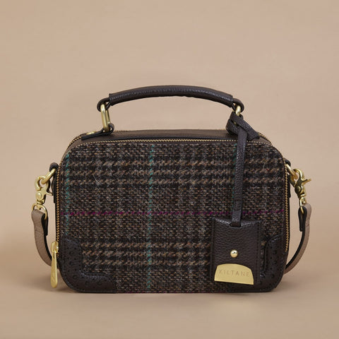 Harris Tweed Vanity Bag