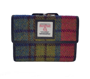 Harris Tweed Medium Clasp Wallet