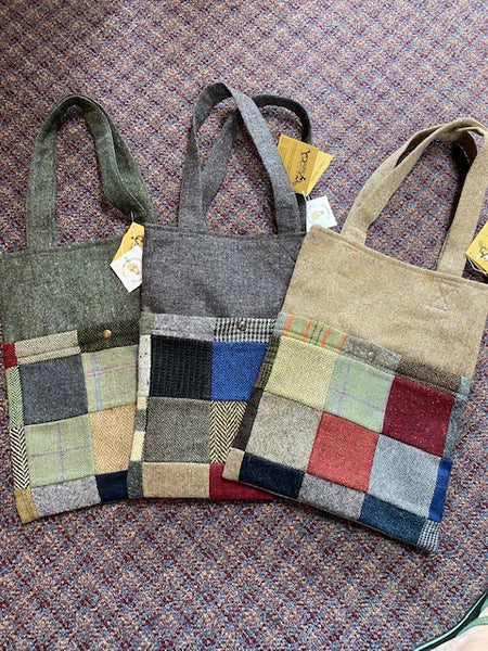 Hanna Hats Patchwork Tweed Murvagh Bag