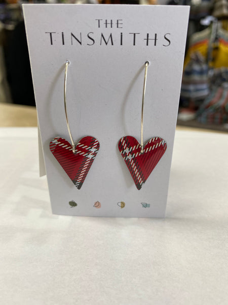 The Tinsmith Tartan Plaid Earring Collection