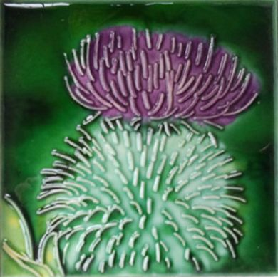 Skye Tiles, Scottish Thistle