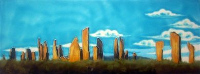 Skye Tiles, Callanish Stones, Isle of Lewis