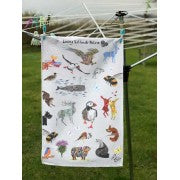 Chloe Gardner, Loving Nature Tea Towel