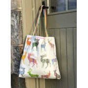 Chloe Gardner, Large Multi Stag Canvas Bag