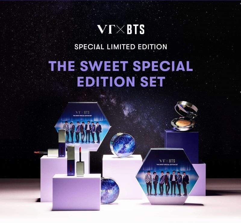 VT X Bangtan7 The Sweet Special Edition Set - Official