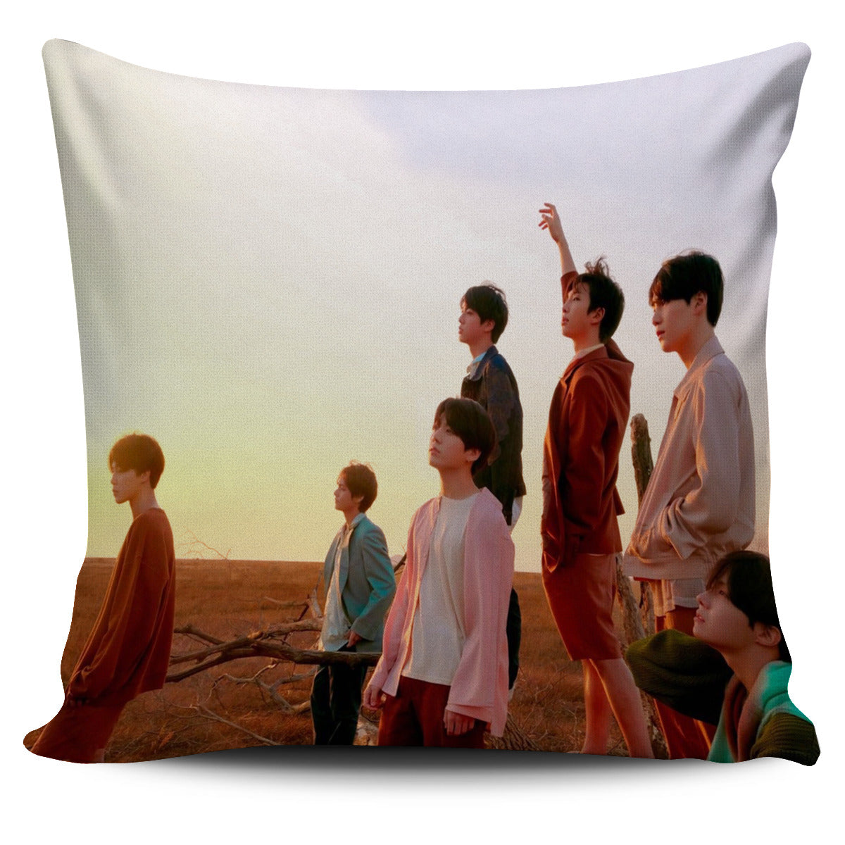 FREE Bangtan7 Pillow Cover
