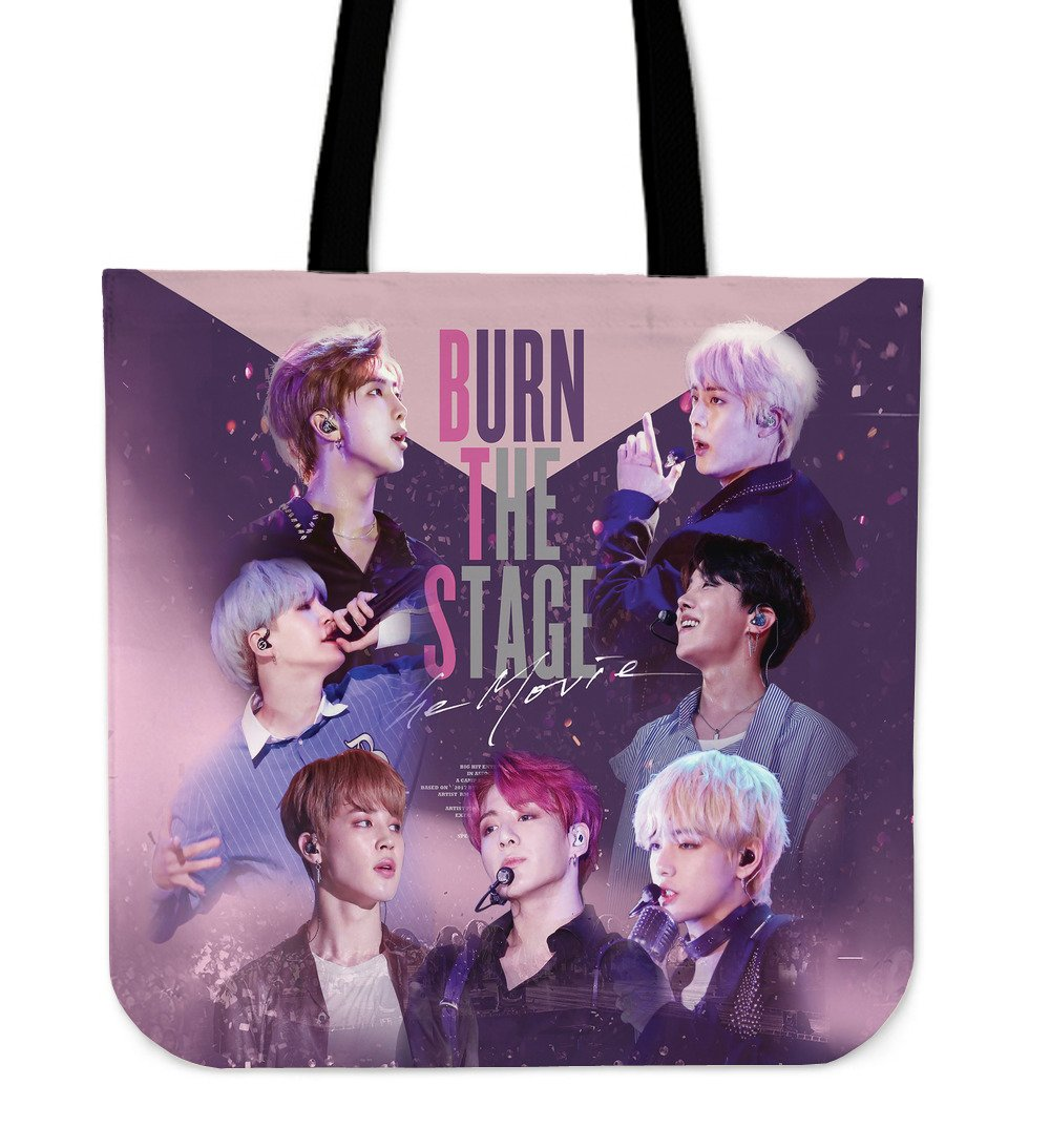 Bangtan7 Burn The Stage Tote Bag