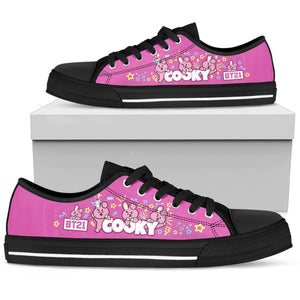 Bangtan21 Cooky Low Tops