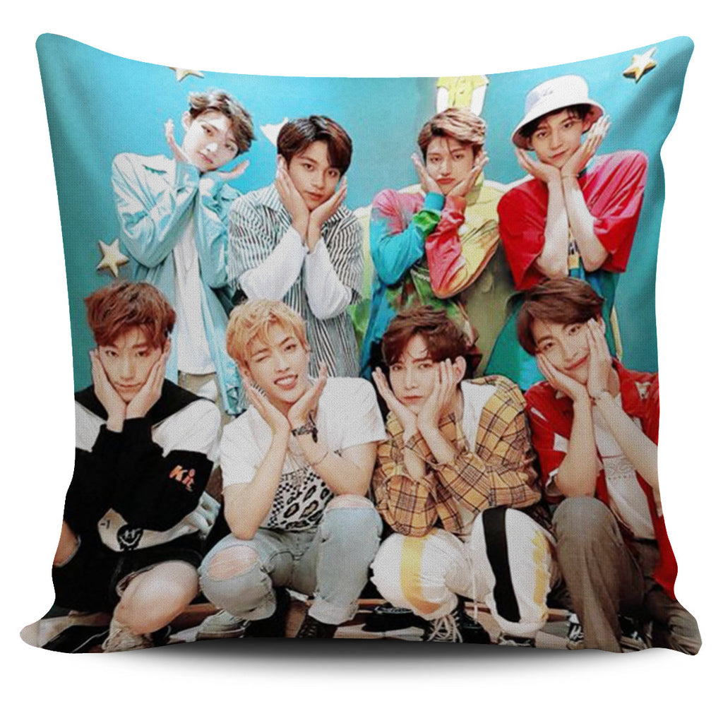 Ateez Pillow Case