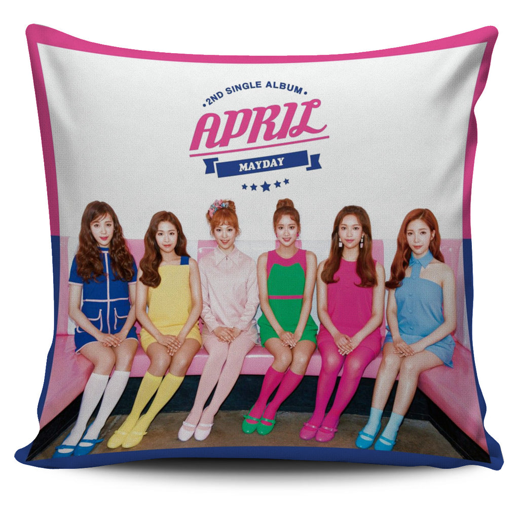 April MayDay Pillow Case