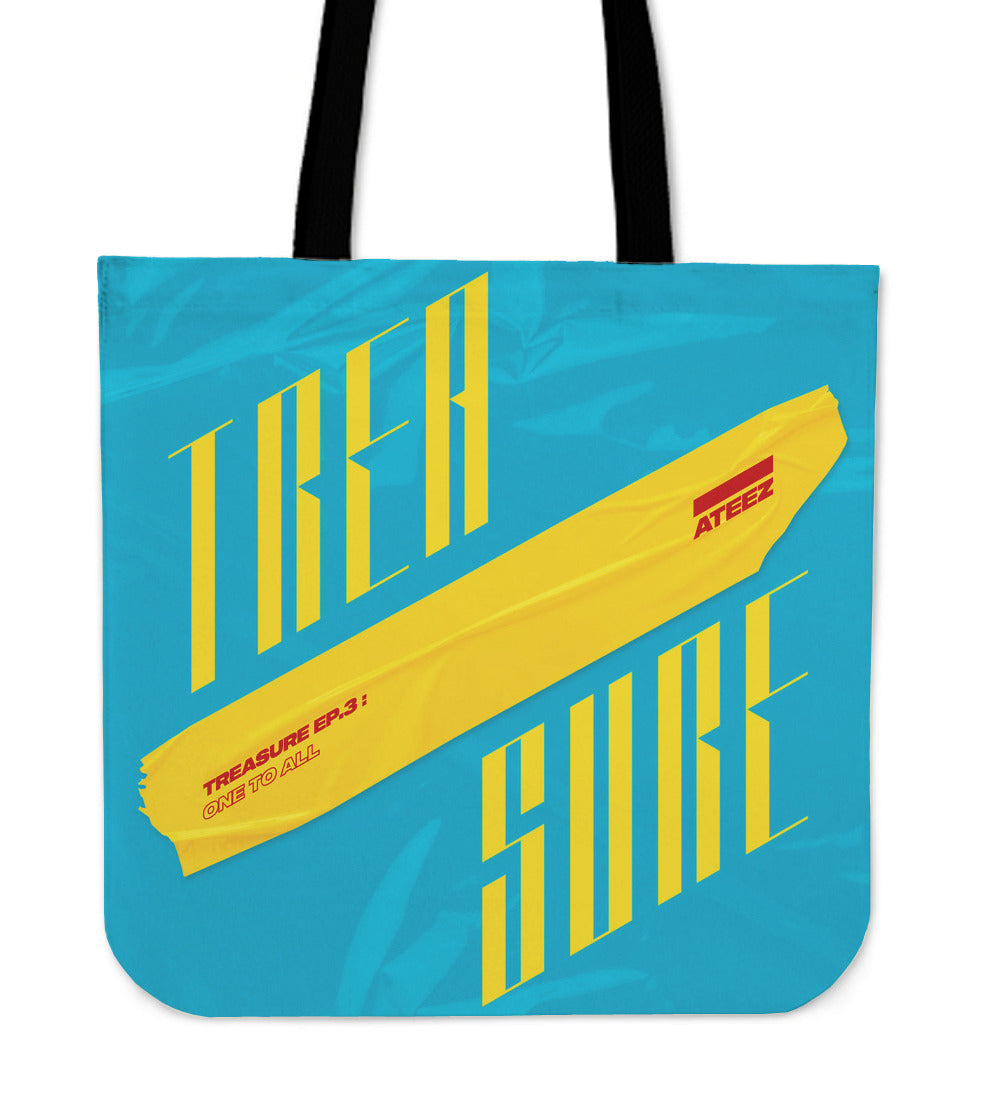 Ateez Treasure Tote Bag