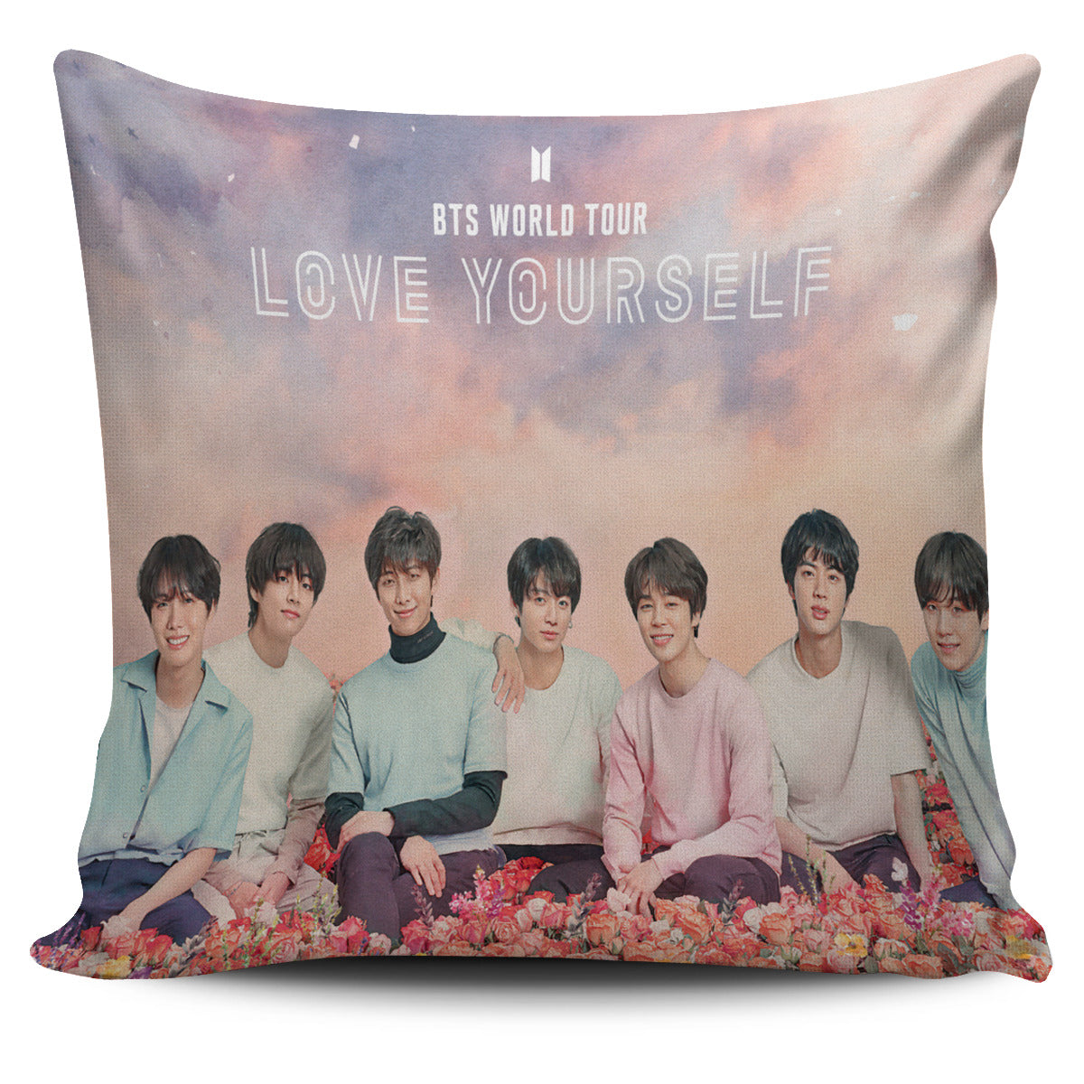 FREE Love Yourself Pillow Cover