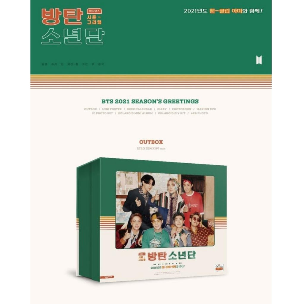 [PRE-ORDER] Bangtan7 2021 Season's Greetings - Official