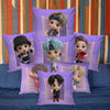 Chibi Bangtan Pillow Cases
