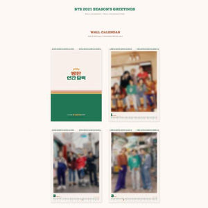 [PRE-ORDER] Bangtan7 2021 Season's Greetings and Wall Calendar - Official