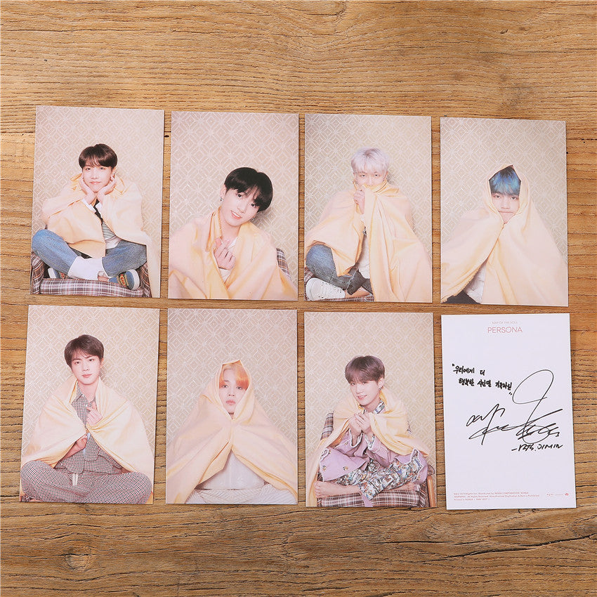 Bangtan7 Signature Card Photocard